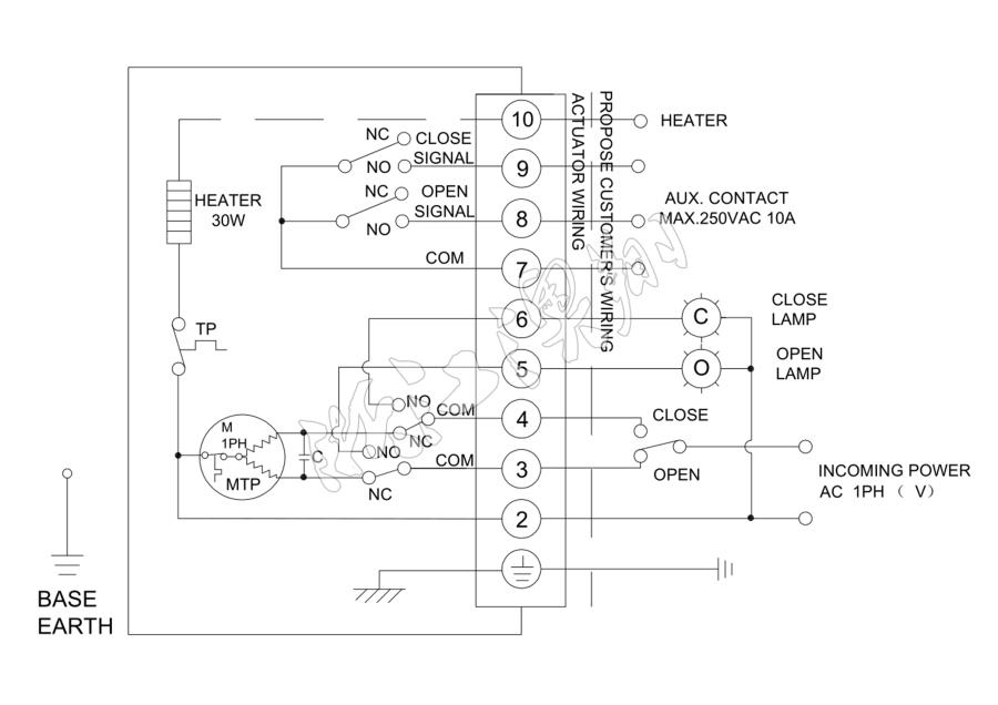 直行程电动执行器